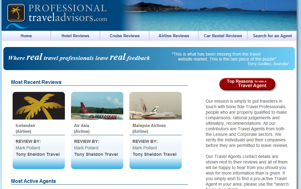 Professional Travel Advisors